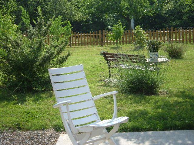 Le domaine de braffais la terrasse et le jardin clos for Le jardin clos